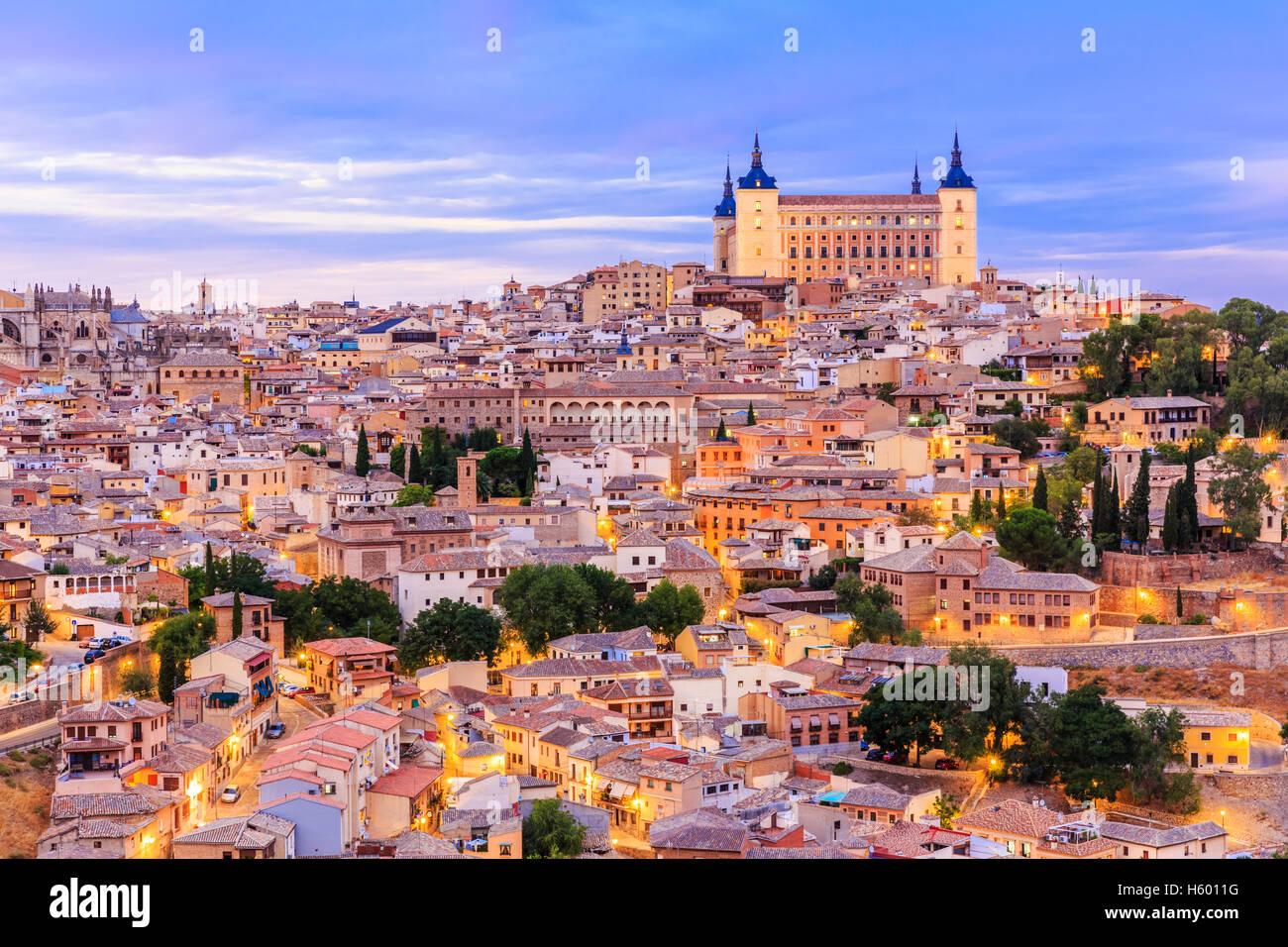 Toledo, España. Imagen De Stock