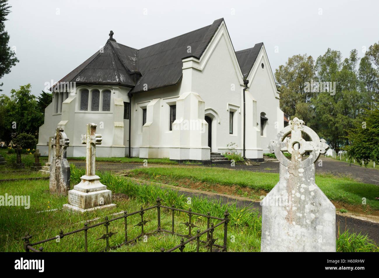 La Iglesia de la santísima Trinidad, Nuwara Eliya, Sri Lanka Foto de stock