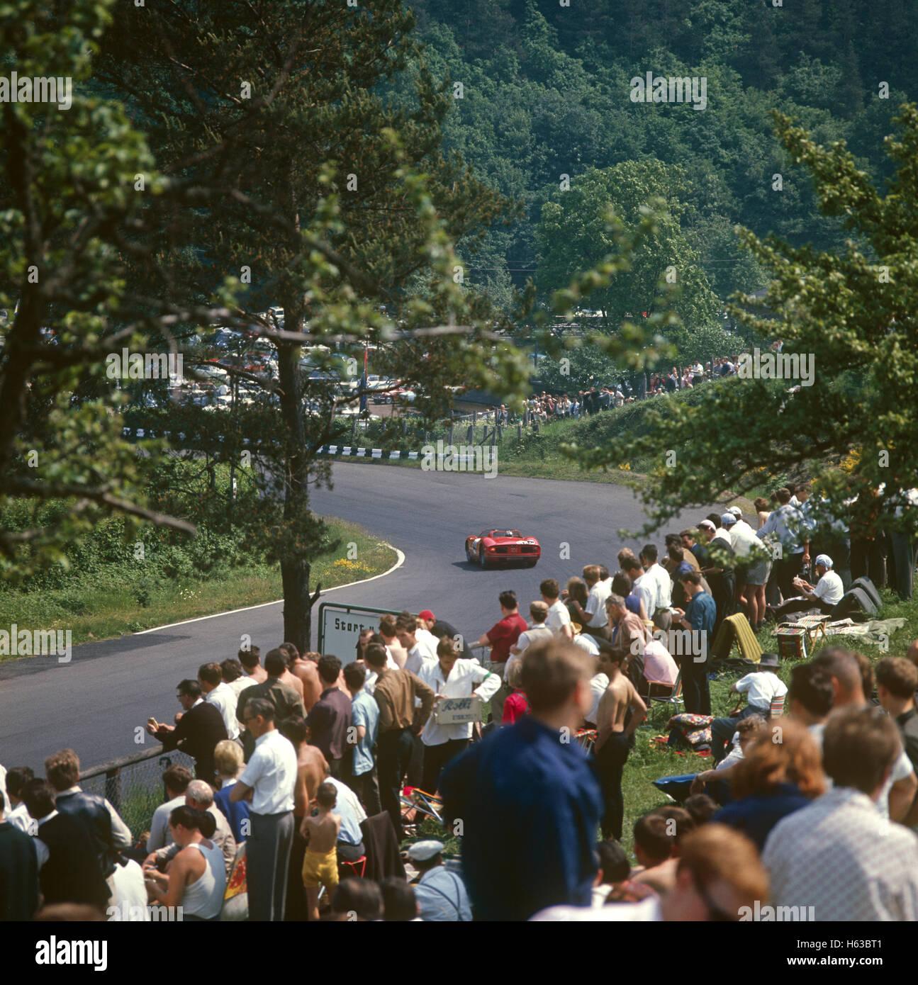 FERRARI Nurburgring 1000 kms 1965 Imagen De Stock