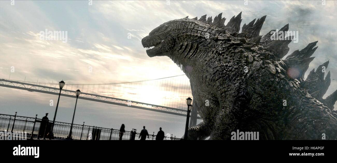 GODZILLA Godzilla (2014) Imagen De Stock