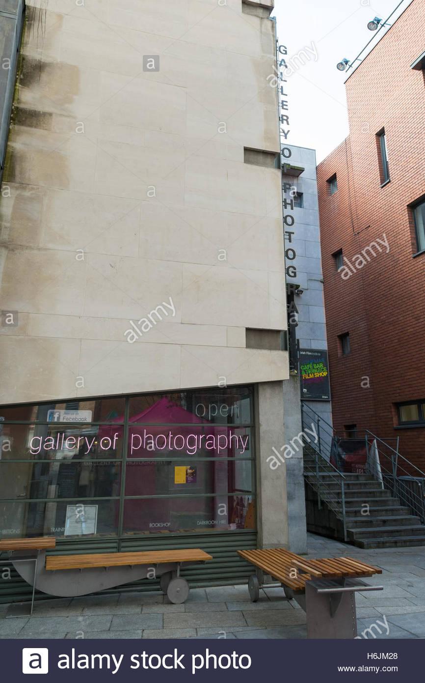 Galería de fotografía, el centro nacional de fotografía contemporánea, Dublín, Irlanda Imagen De Stock