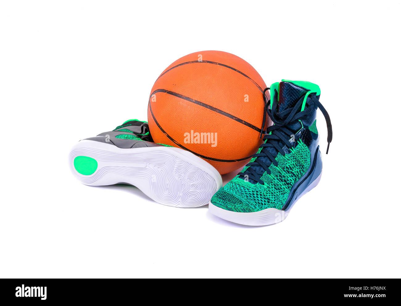 Black Nike Sneakers Imágenes De Stock   Black Nike Sneakers Fotos De ... cd7437ed899aa