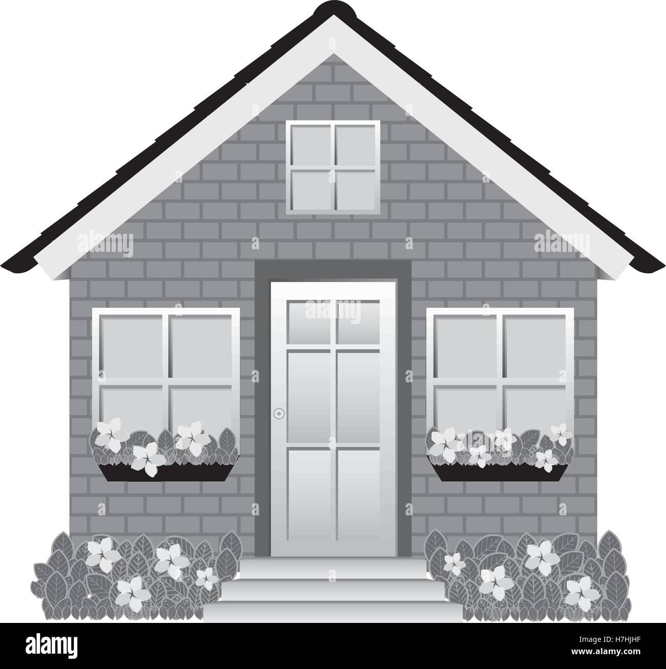 Perfecto Pequeña Casa En La Pradera Para Colorear Motivo - Enmarcado ...