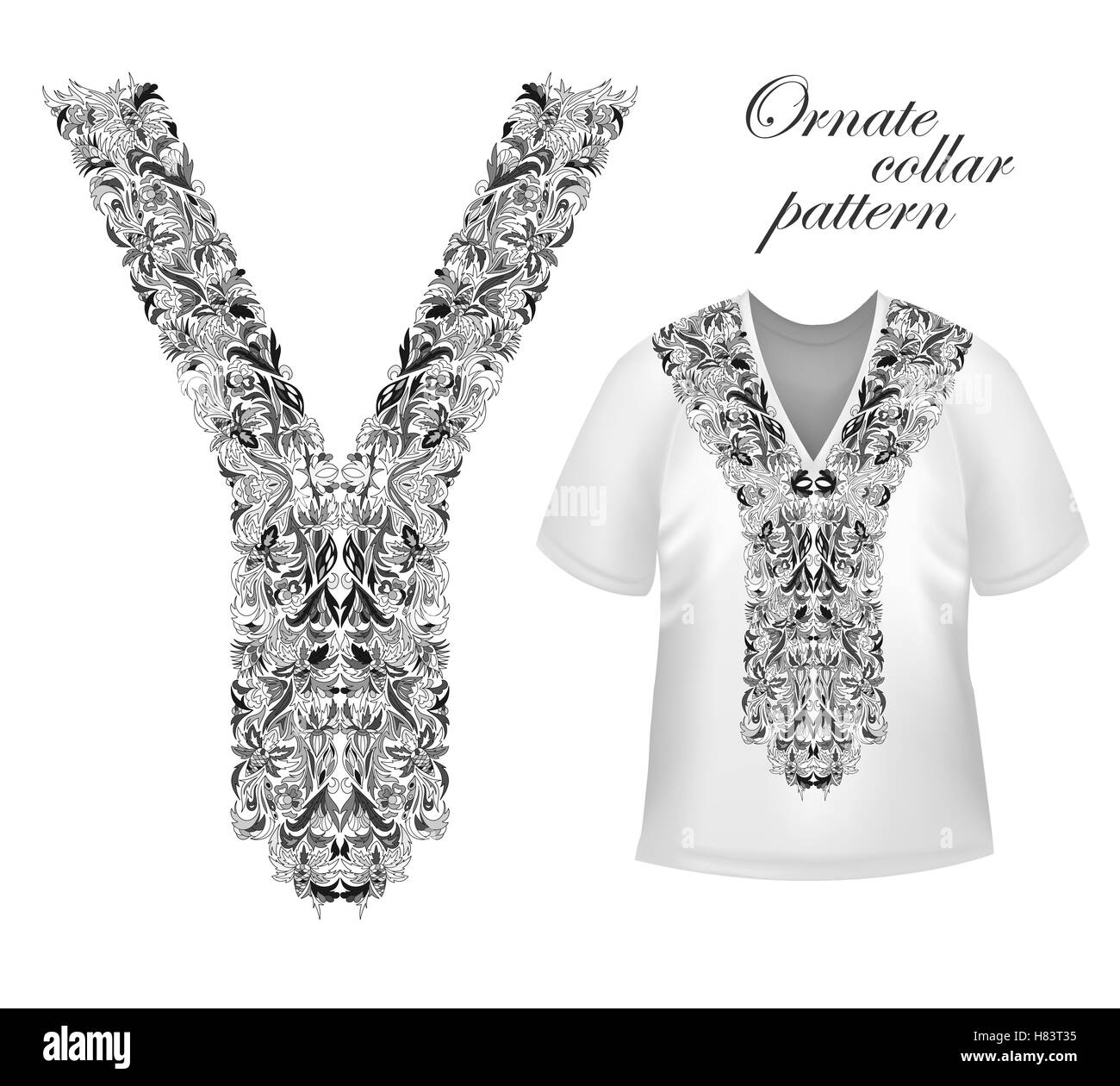 Collar de diseño de camisetas 76f1c77a2d649
