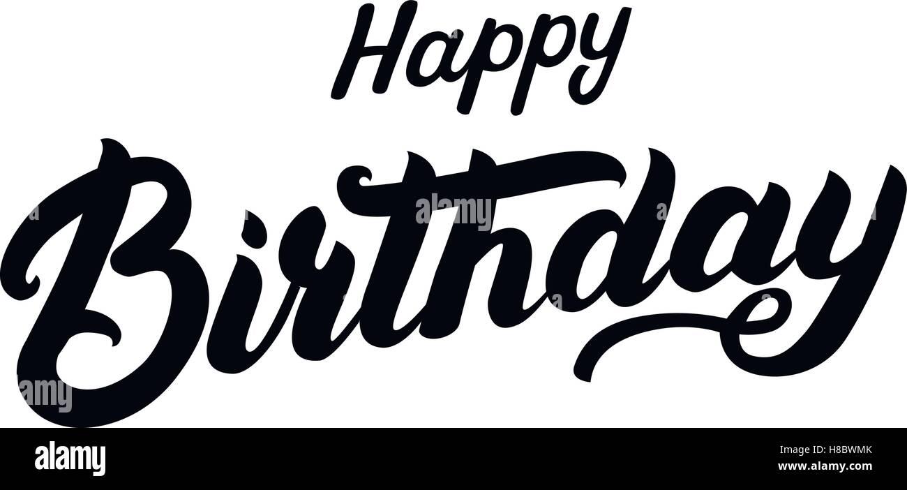 Feliz Cumpleaños Letras Escritas A Mano Cotización De