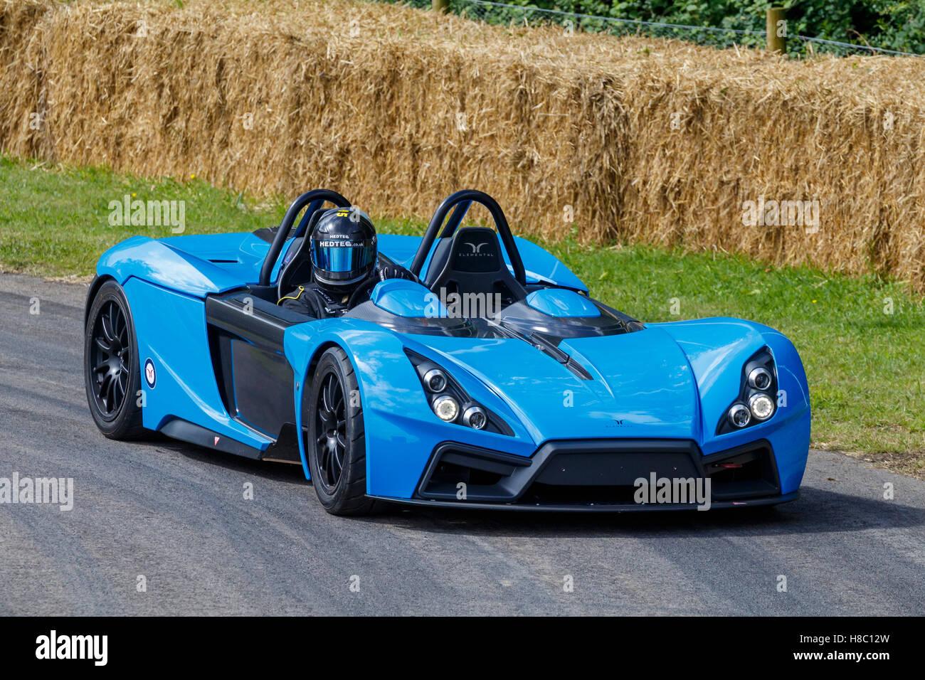 2016 RP1 Elemental Sports Car en el 2016 Festival de Velocidad de Goodwood, Sussex, Reino Unido. Imagen De Stock