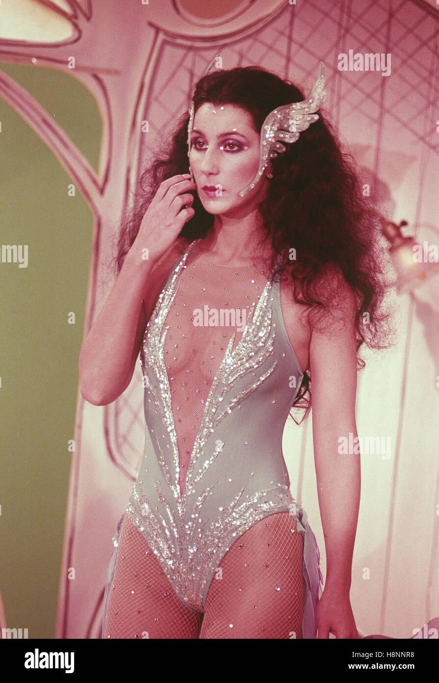 Cher fotografiado por Nancy Barr. © RTNBarr / MediaPunch Imagen De Stock