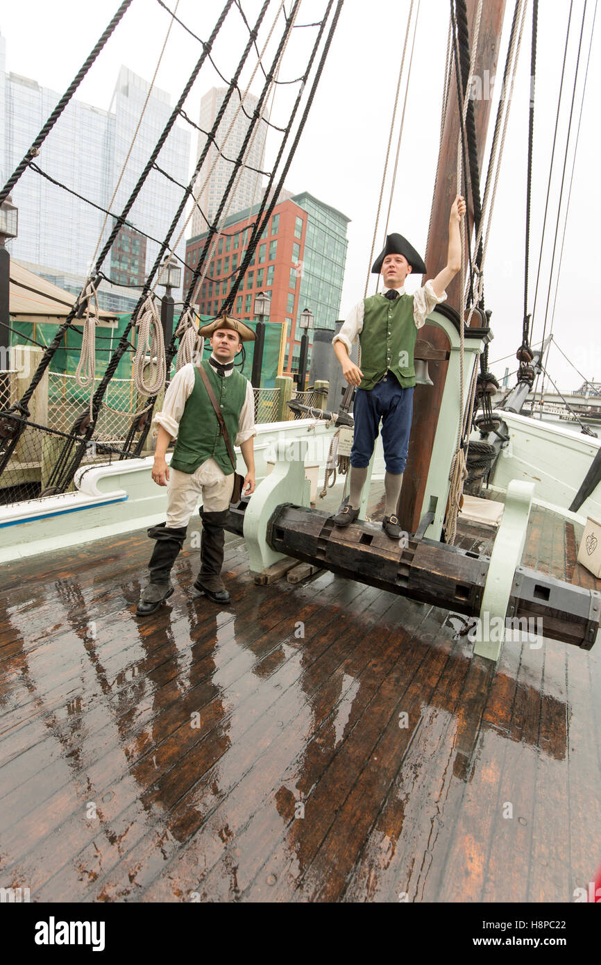 Boston Tea Party Museum Imagen De Stock
