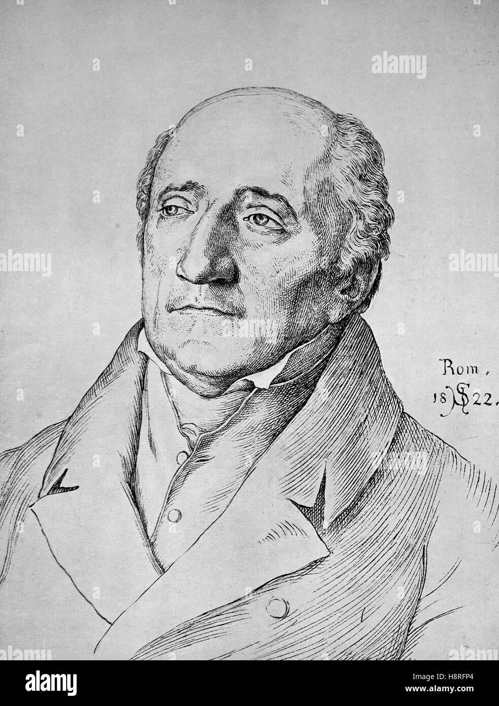 Heinrich Friedrich Karl Reichsfreiherr vom und zum Stein, comúnmente conocido como el Barón von Stein, era un estadista prusiano Foto de stock