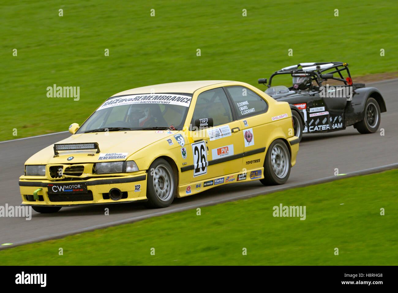 Misión Motor Sport Ty Croes Anglesey, circuito de carreras ,el norte de Gales, Reino Unido. Carrera de recuerdo. Imagen De Stock