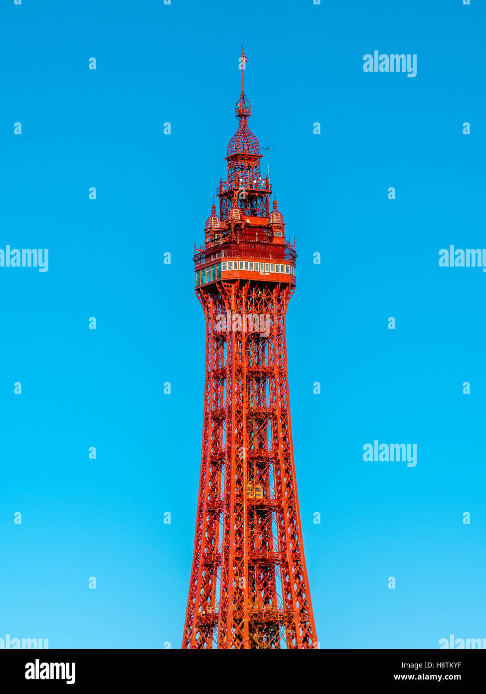 La torre de Blackpool, Lancashire, Reino Unido. Imagen De Stock