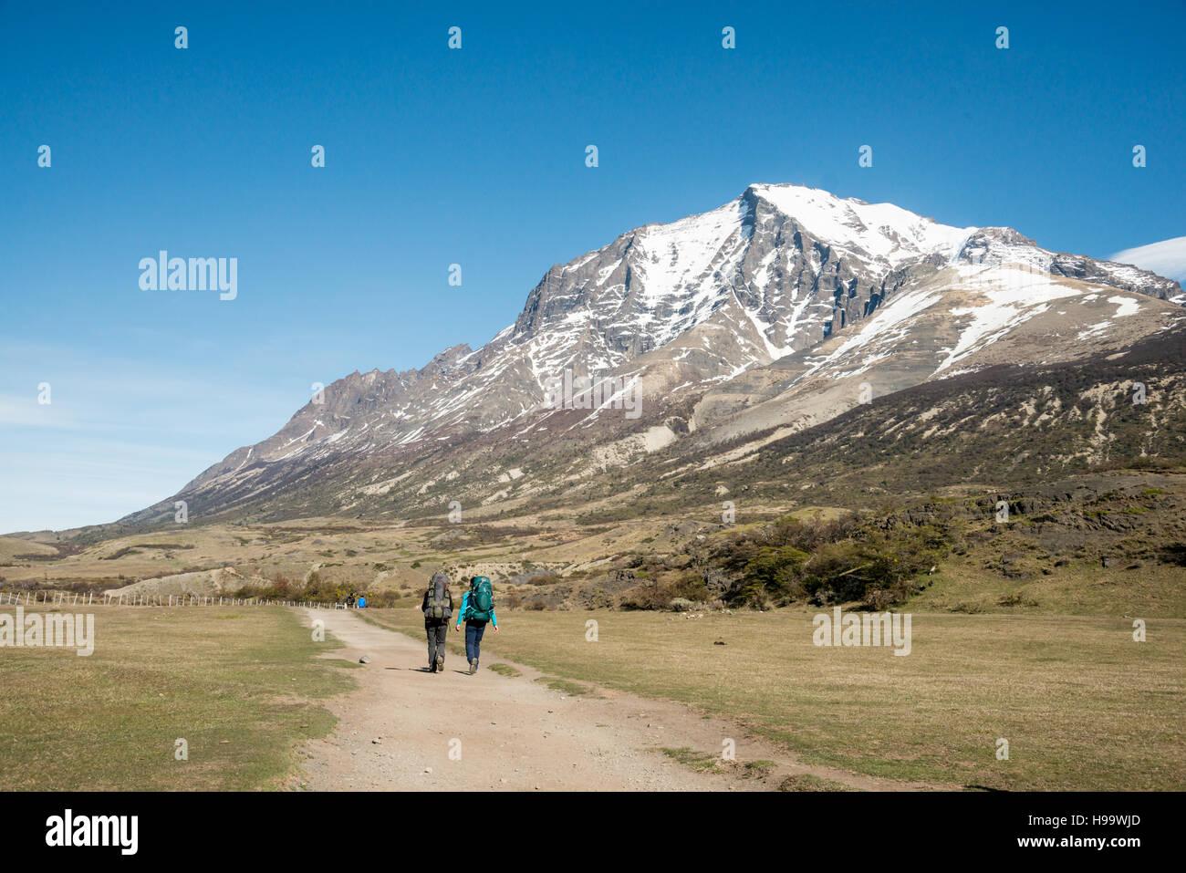 Circuito W : Patagonia circuito w foto imagen de stock alamy