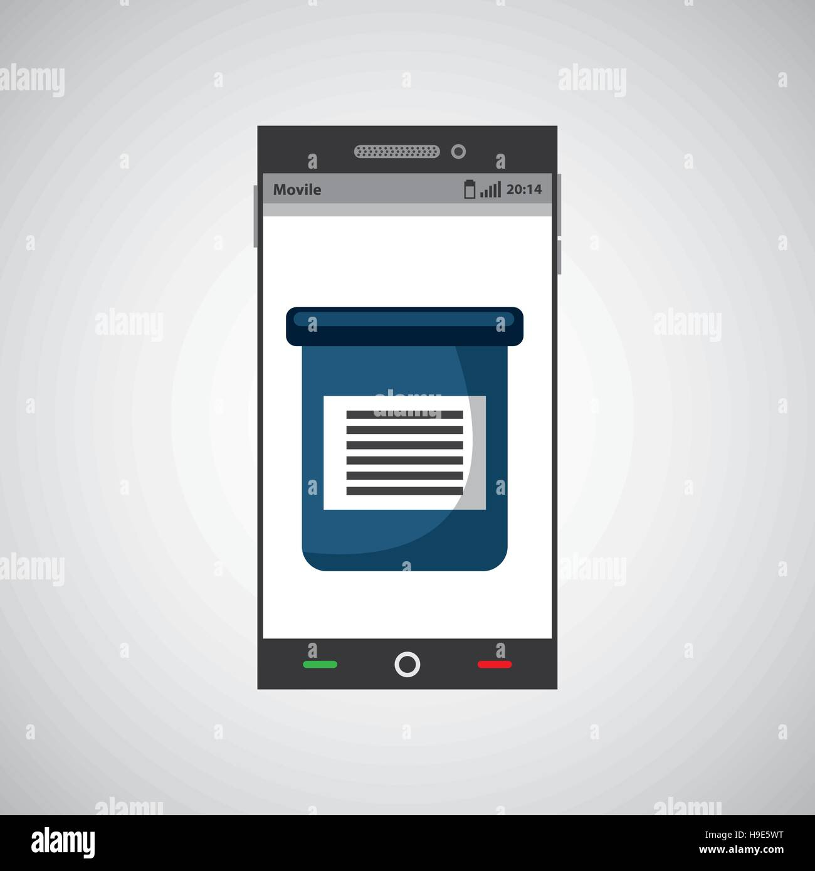 Servicio médico la tecnología digital ilustración vectorial EPS 10 Ilustración del Vector