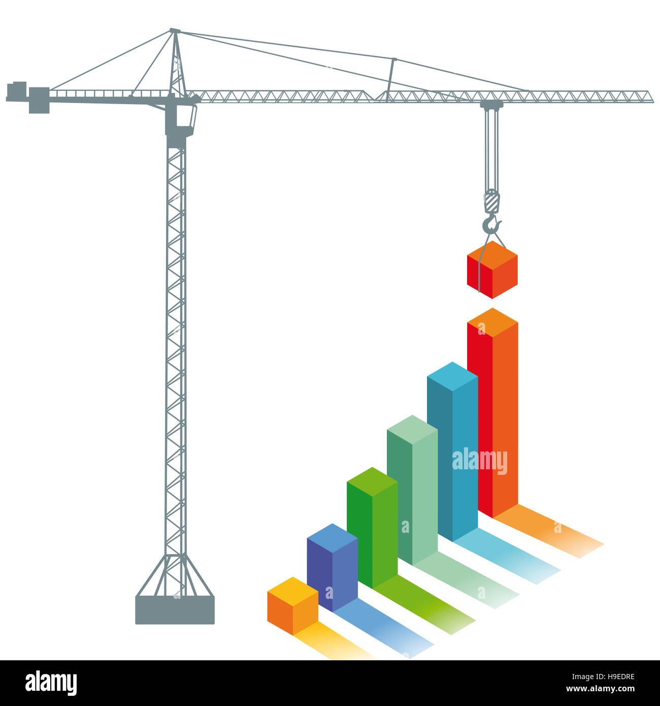 Progreso del resumen, balance, estrategia, Imagen De Stock