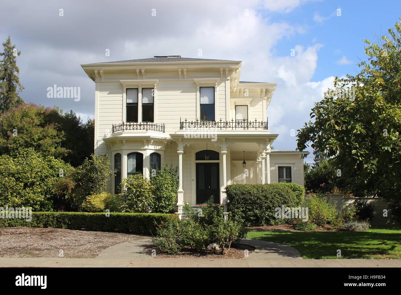 Sombra de duda House, italianizante, Santa Rosa, California Imagen De Stock