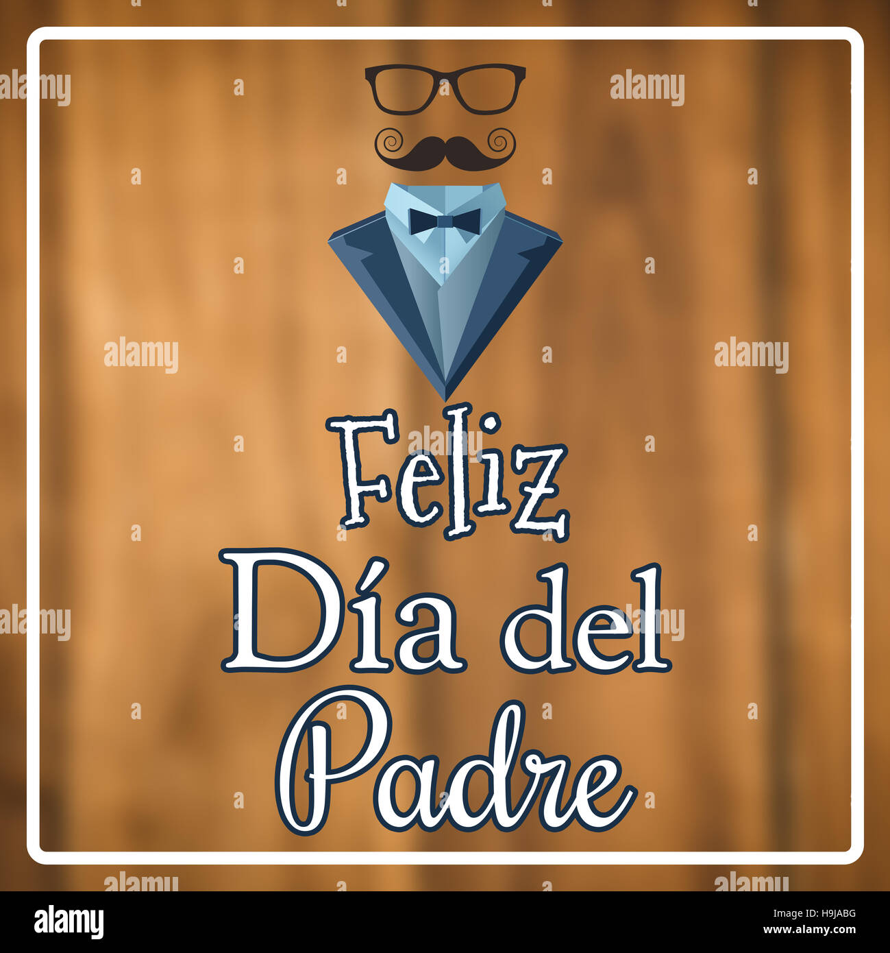 Imagen compuesta de Feliz Dia del padre Imagen De Stock