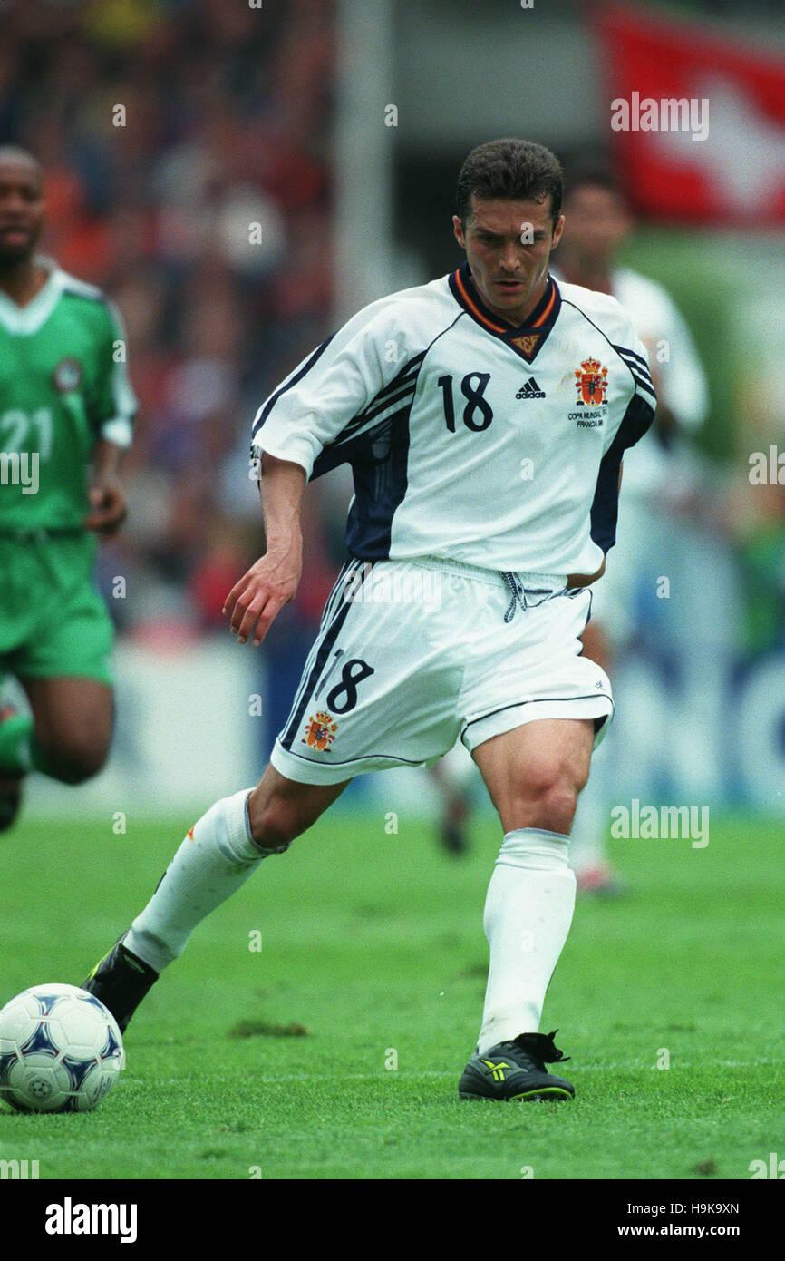 GUILLERMO AMOR España el 25 de junio de 1998 Imagen De Stock