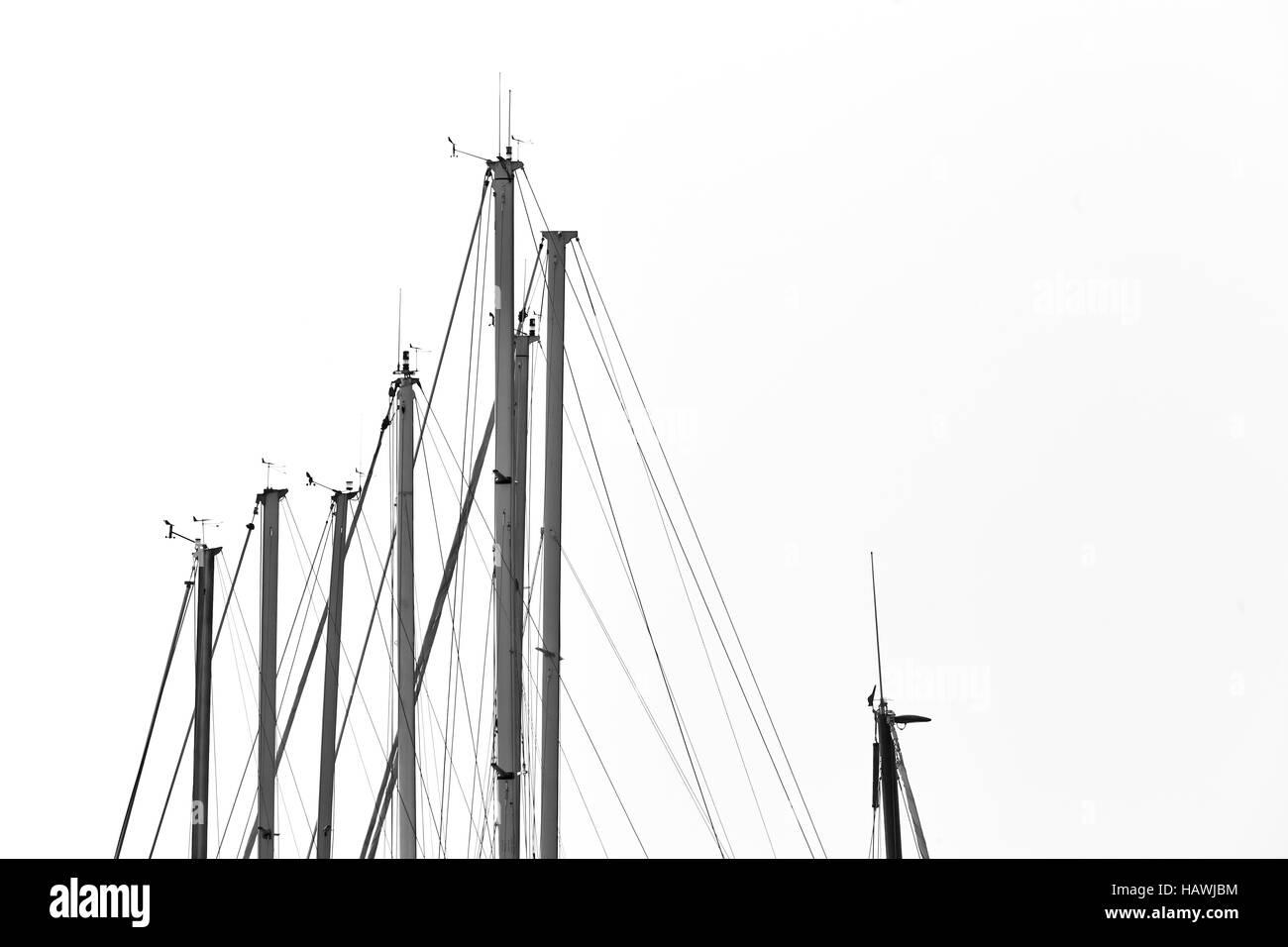 El puerto de Copenhague, Dinamarca Foto de stock