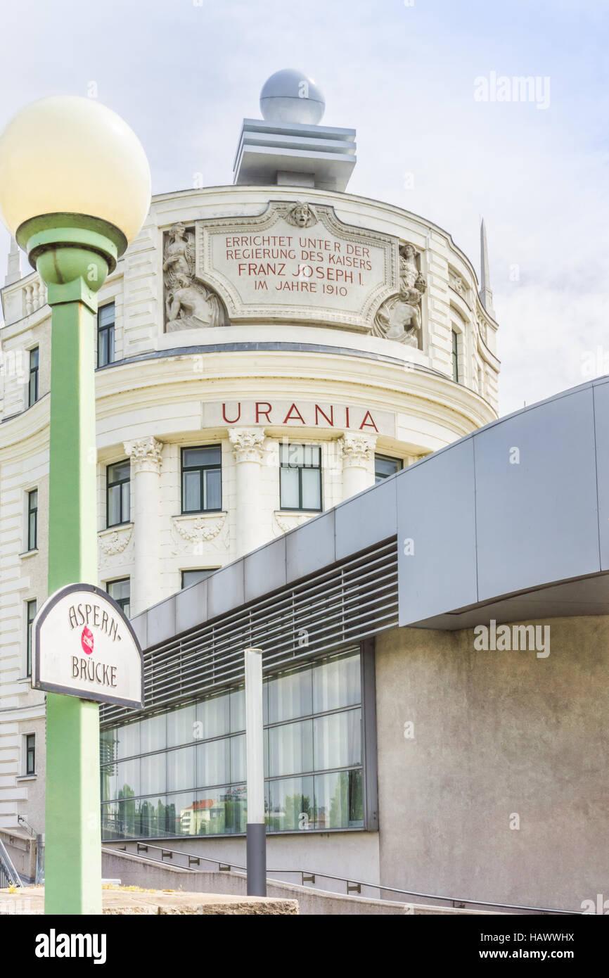 edificio Urania Imagen De Stock