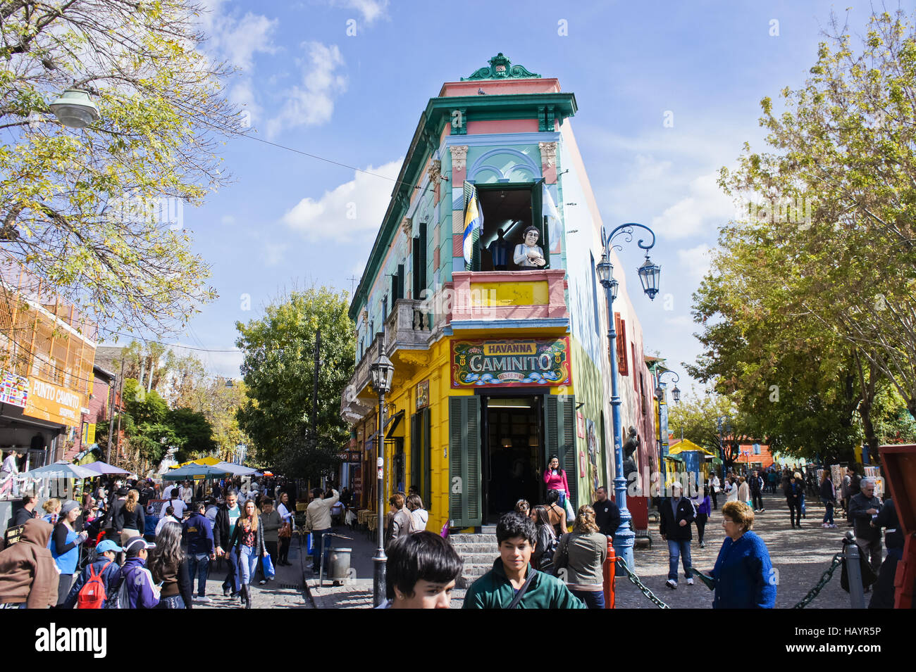 Argentina, Buenos Aires, La Boca Imagen De Stock