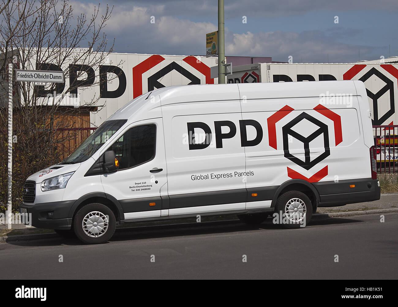 DPD Foto de stock