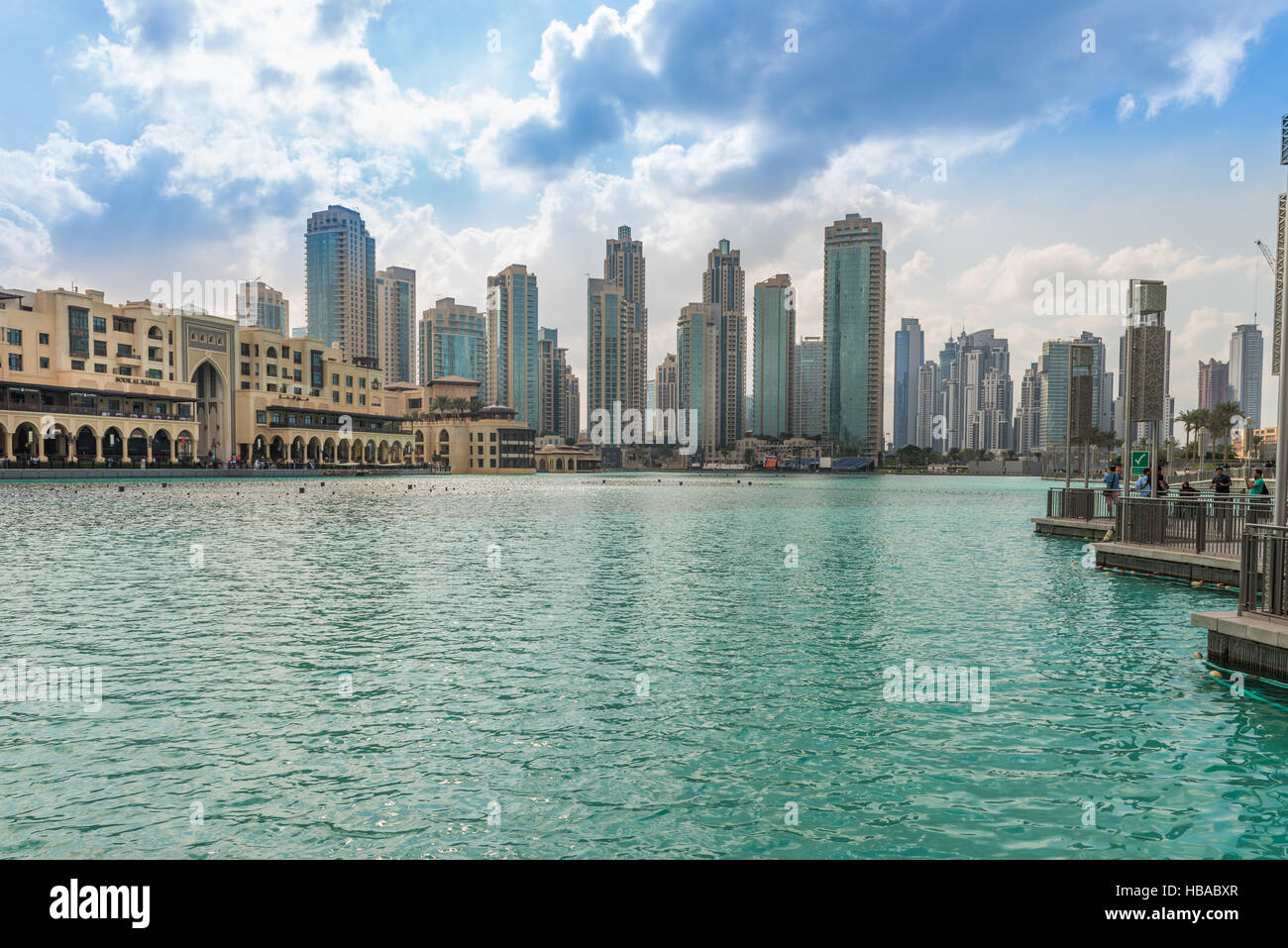 Centro comercial zoco Al Bahar, Dubai Imagen De Stock