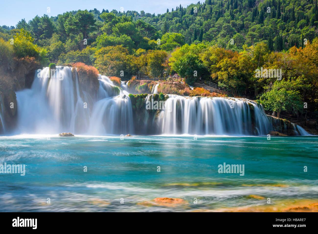 Parque Nacional de Krka, Croacia Imagen De Stock