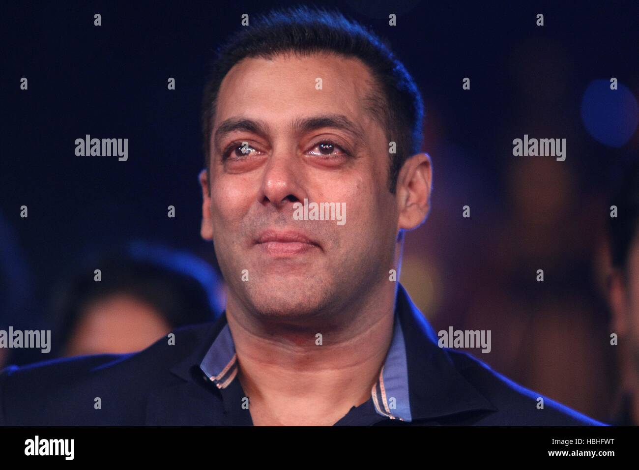 Actor de Bollywood Salman Khan durante la Lux Zee Cine Awards 2016, en Mumbai, India, Imagen De Stock