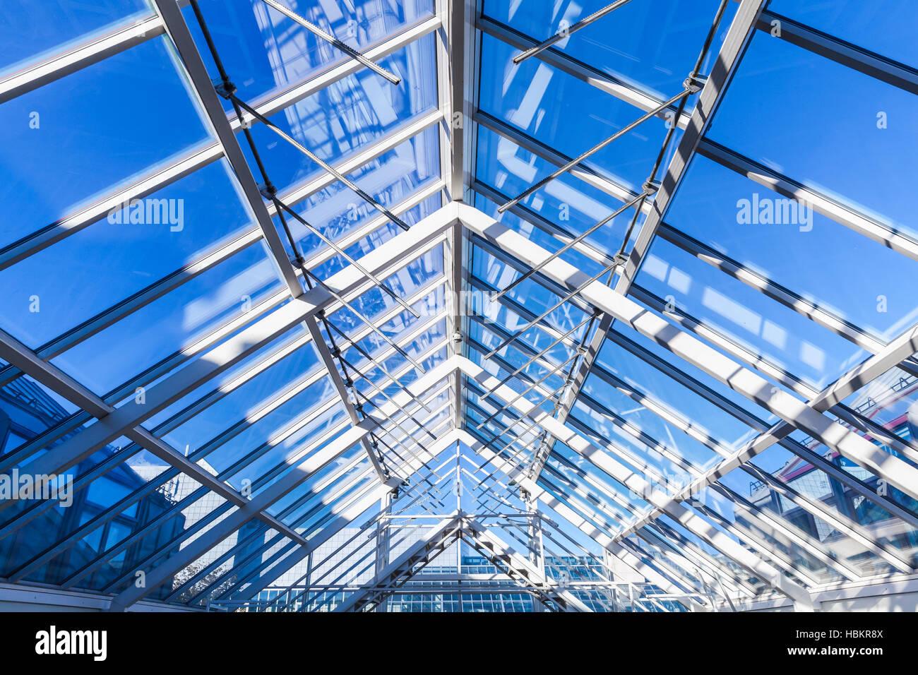Resumen La Arquitectura High Tech Foto De Fondo La