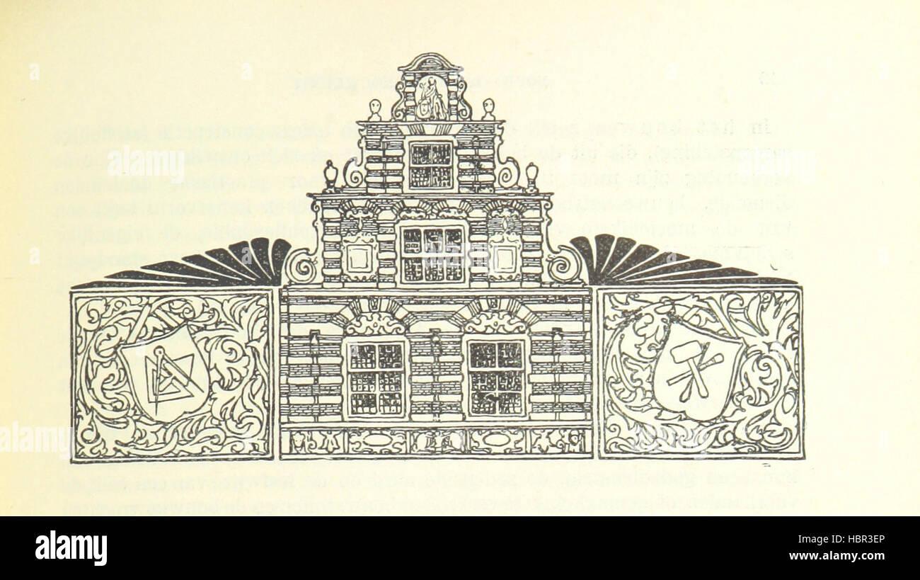 """Imagen tomada de la página 611 de """"halve Eeuw Eene, 1848-1898. Nederland onder de regeering van Koning Imagen De Stock"""