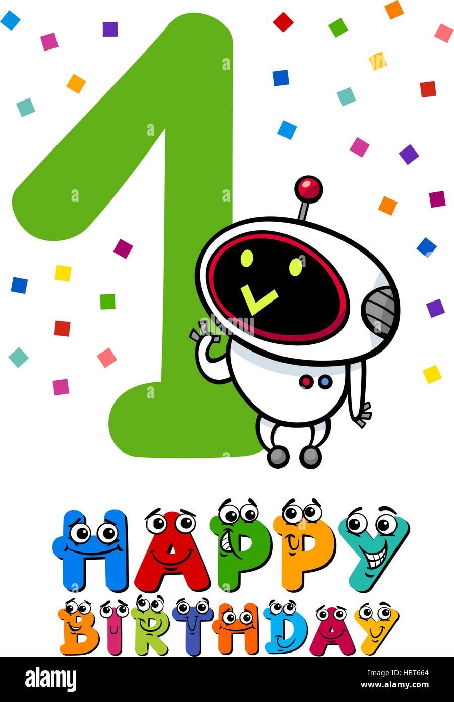First Birthday Vector Vectors Imágenes De Stock & First Birthday ...