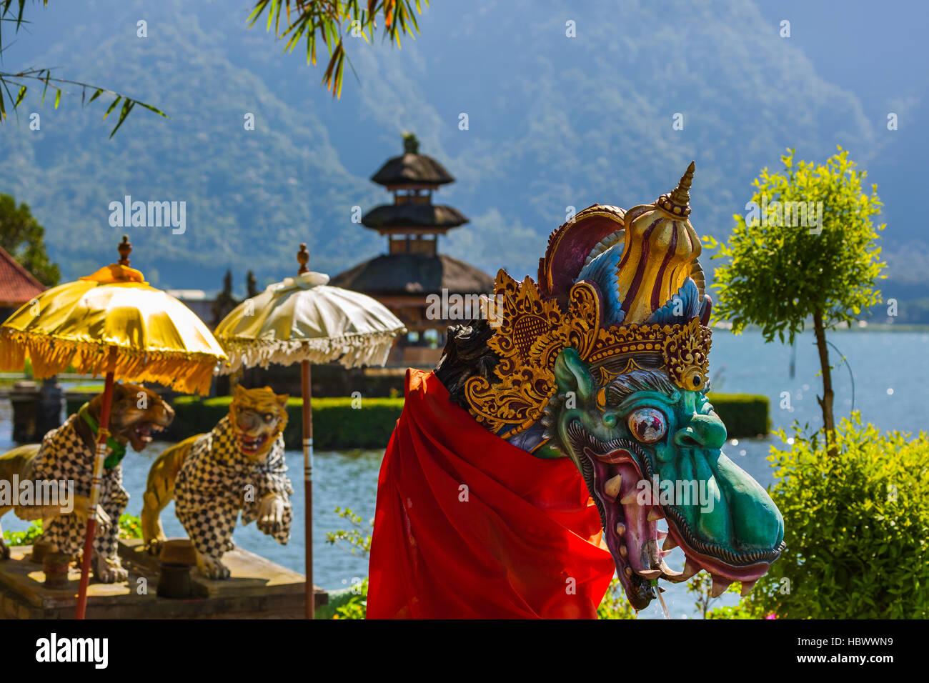 Templo Ulun Danu - isla de Bali Indonesia Imagen De Stock