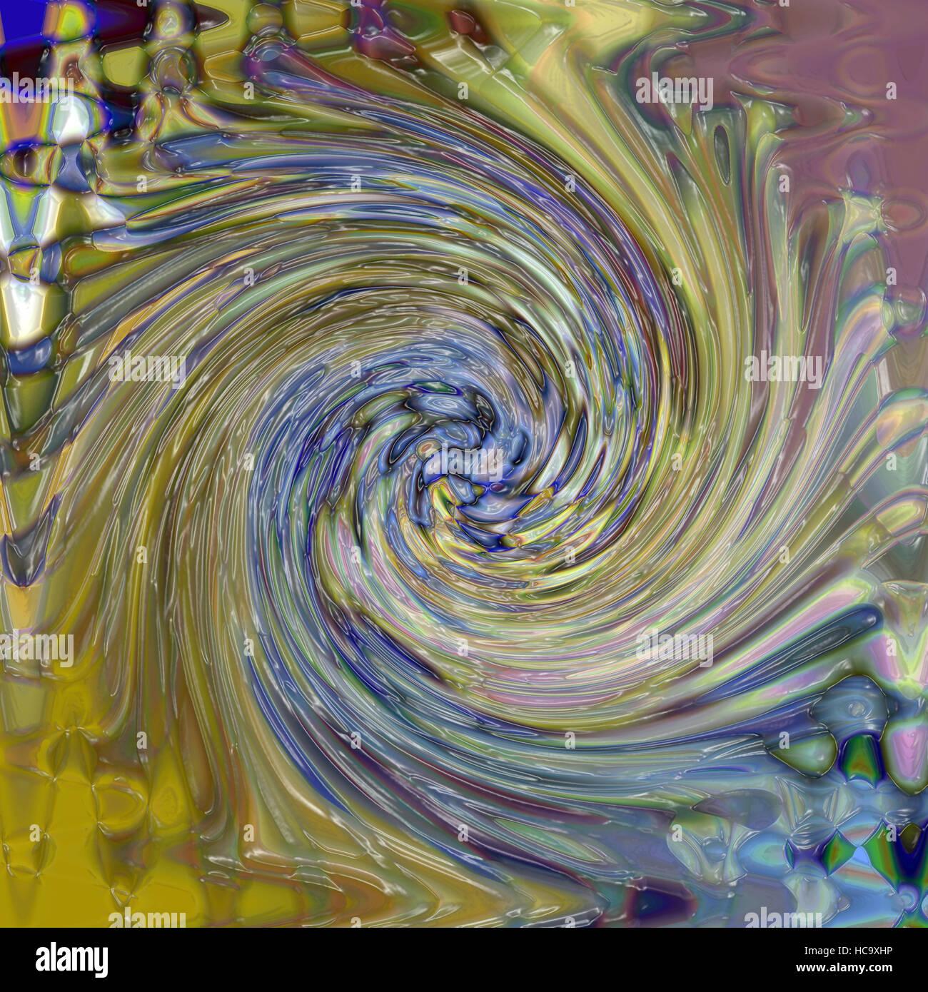 Colorear fondo abstracto del oro degradado con ilusión visual,onda, pellizcar,remolino y los efectos de la Imagen De Stock