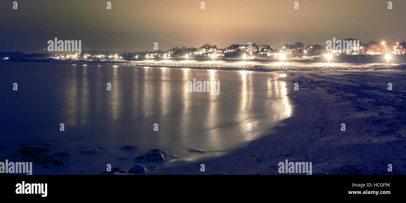 playa tranquila Foto de stock