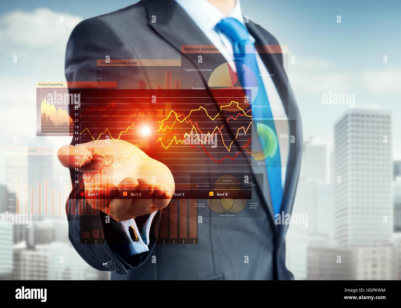 Tecnologías innovadoras para negocios Imagen De Stock