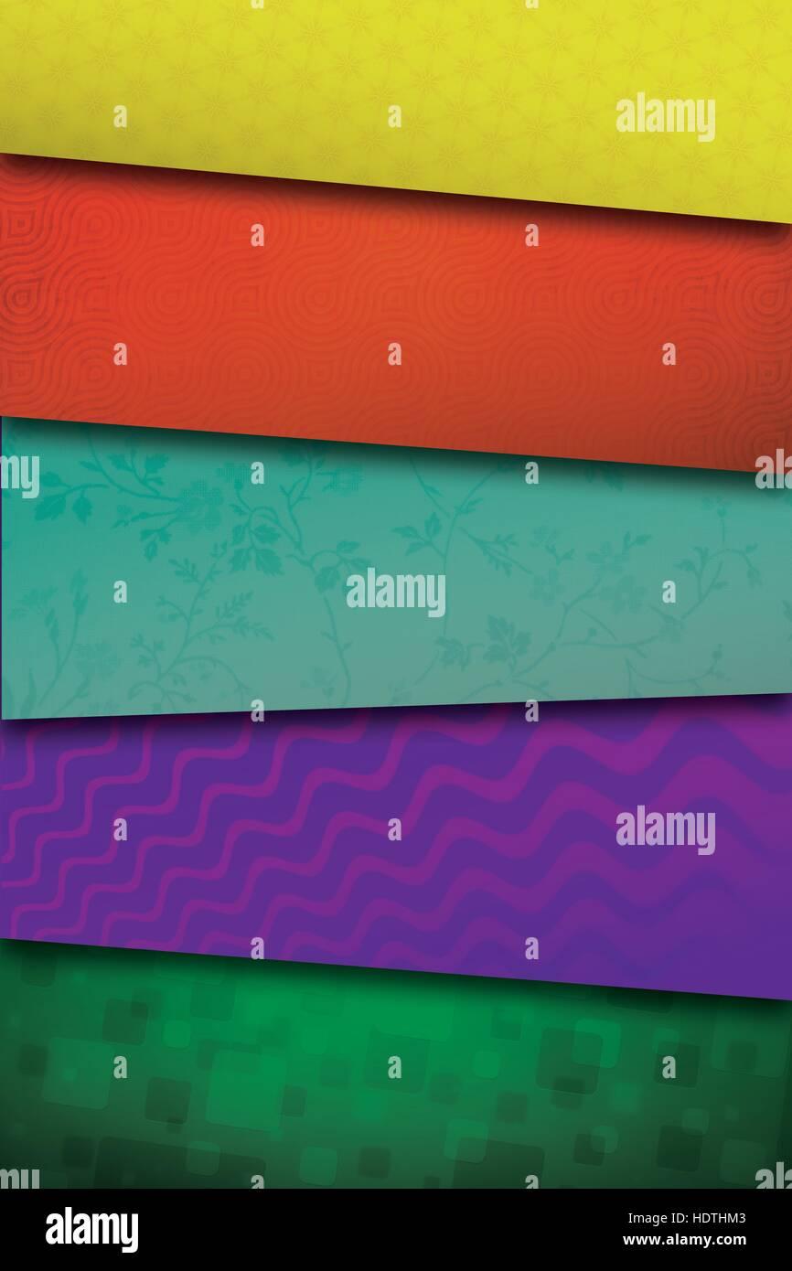 Las texturas de color Imagen De Stock