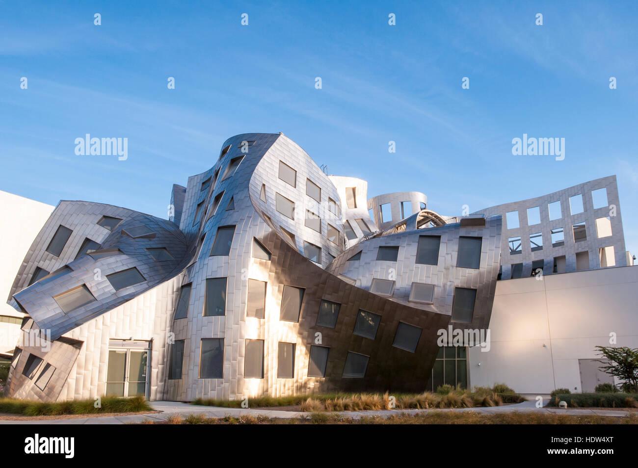 Cleveland Clinic Lou Ruvo centro de salud cerebral edificio diseñado por Frank Gehry, Las Vegas, Nevada. Foto de stock