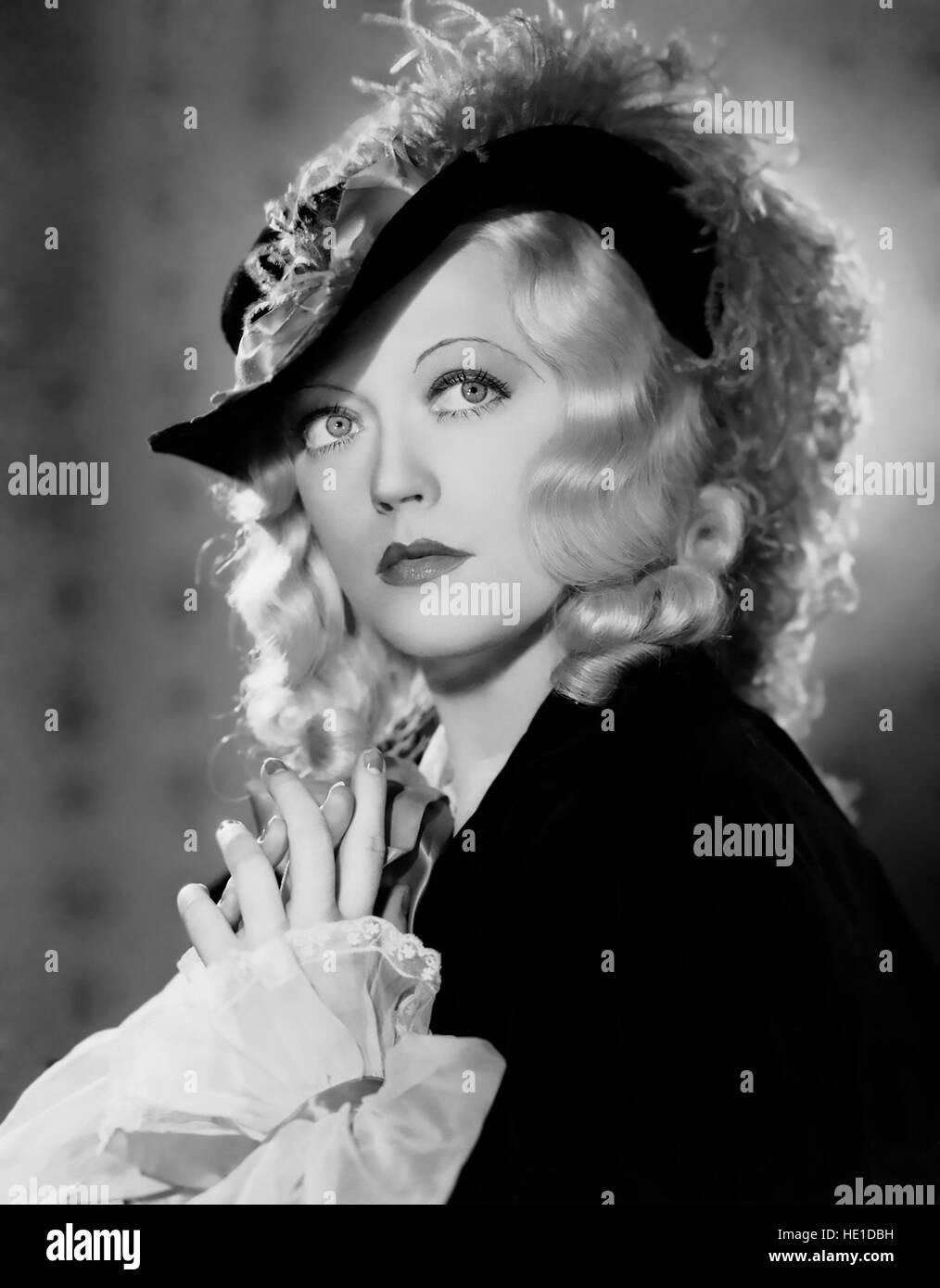 Operador 13 de 1934 películas de MGM con Marion Davies Imagen De Stock