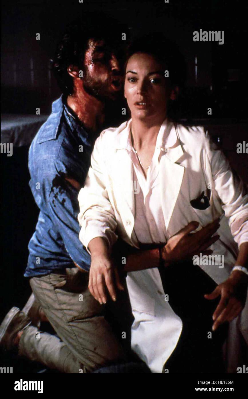 Los nómadas -Tod aus dem Nichts, USA 1986 Director: John McTiernan actores/Estrellas: Lesley-Anne Down, Pierce Brosnan, Anna Maria Monticelli Foto de stock