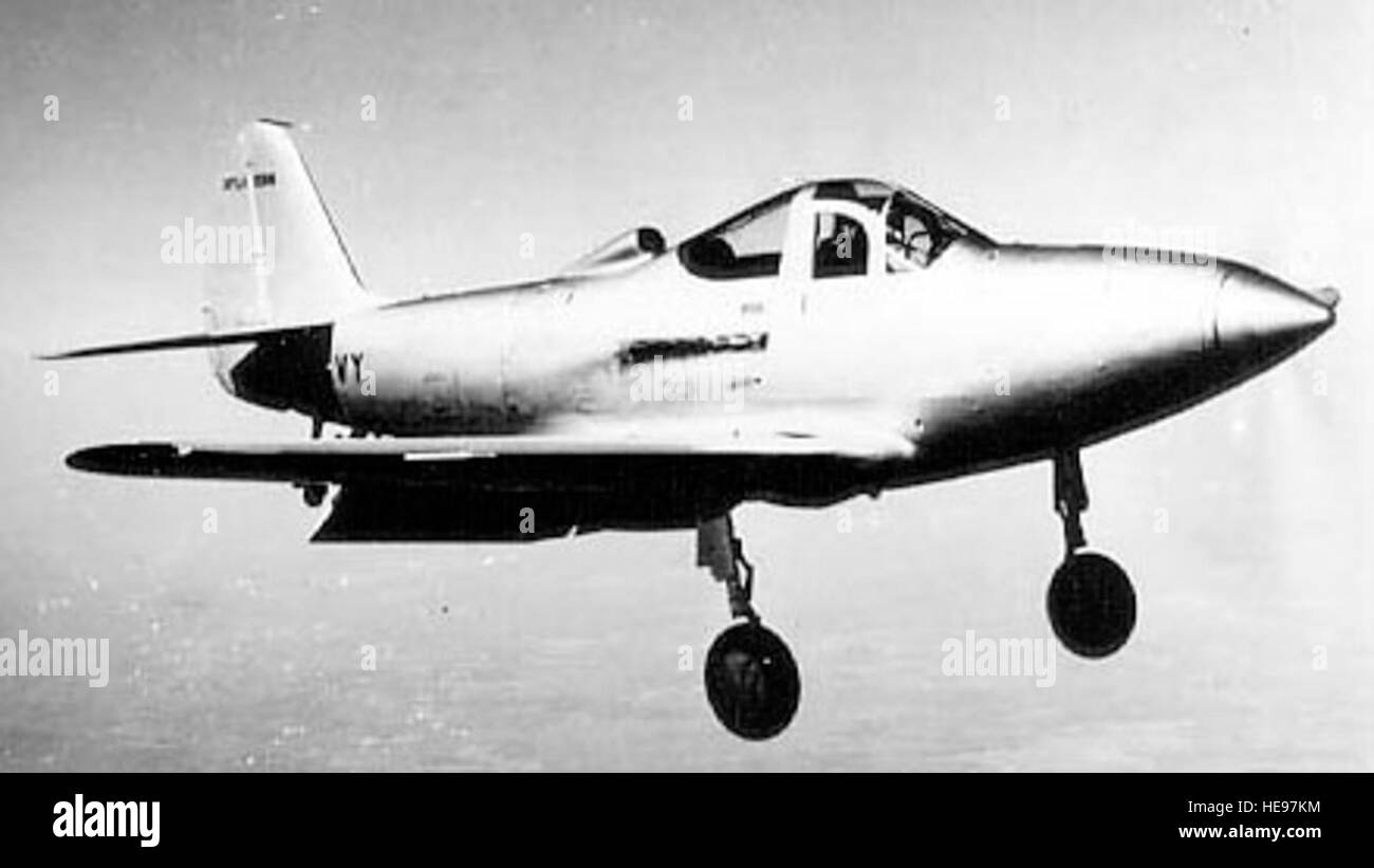 Bell XFL-1 Airabonita, versión de la Marina. (Ee.Uu. Foto de la Fuerza Aérea) Foto de stock
