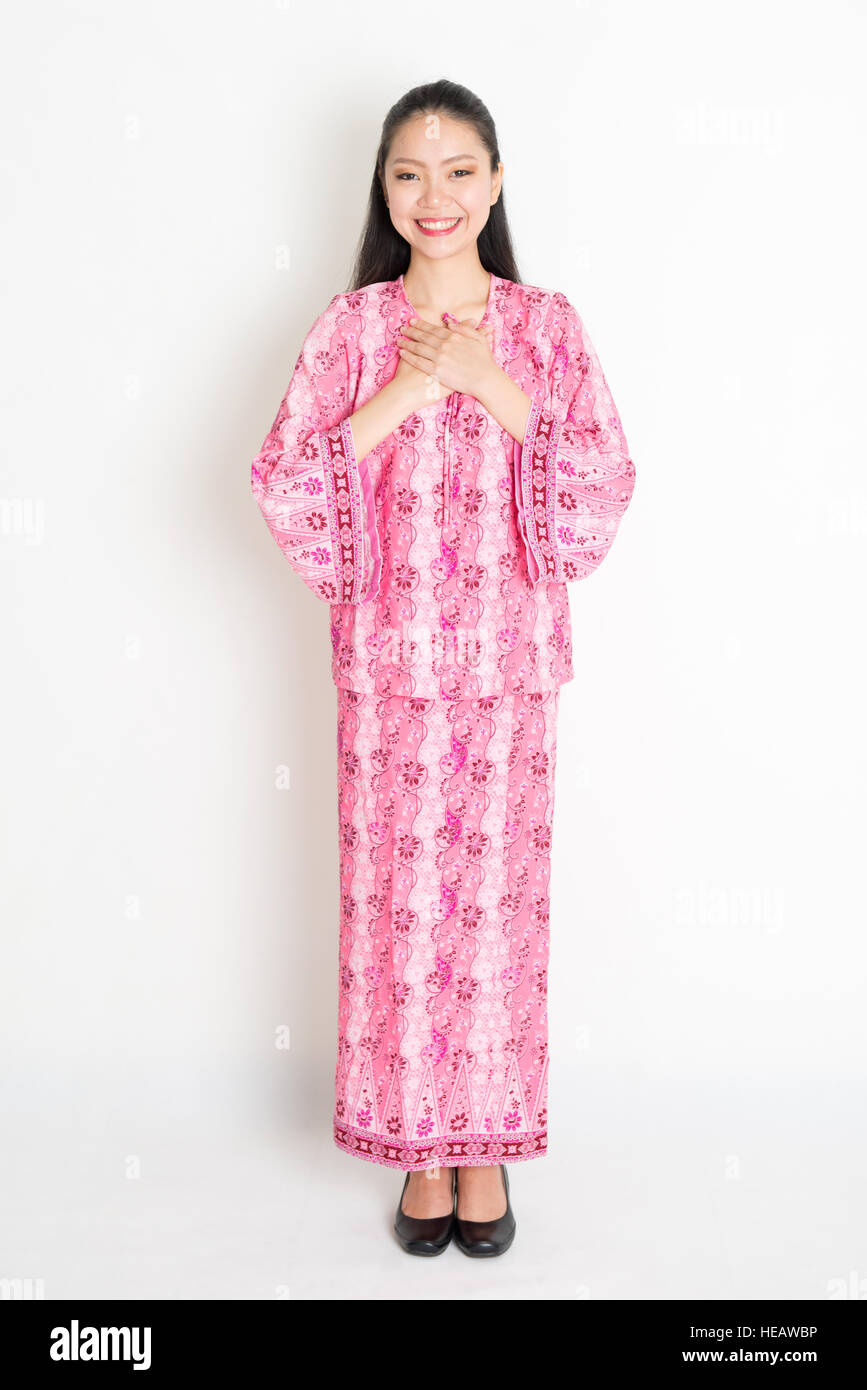 Traditional Malay Dress Imágenes De Stock & Traditional Malay Dress ...