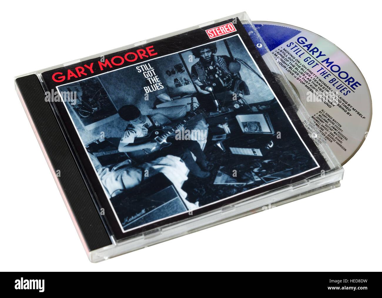 Gary Moore todavía tengo el CD de Blues Imagen De Stock