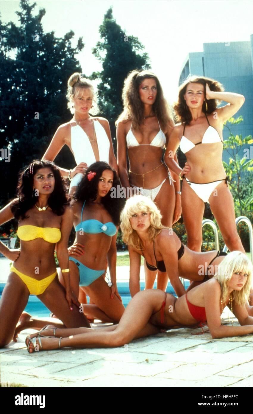 Chicas Bond James Bond: Sólo para sus ojos (1981). Foto de stock
