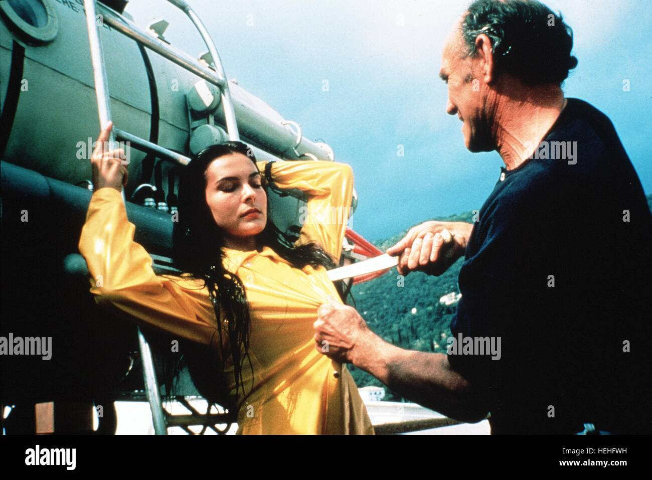 CAROLE BOUQUET James Bond: Sólo para sus ojos (1981). Imagen De Stock