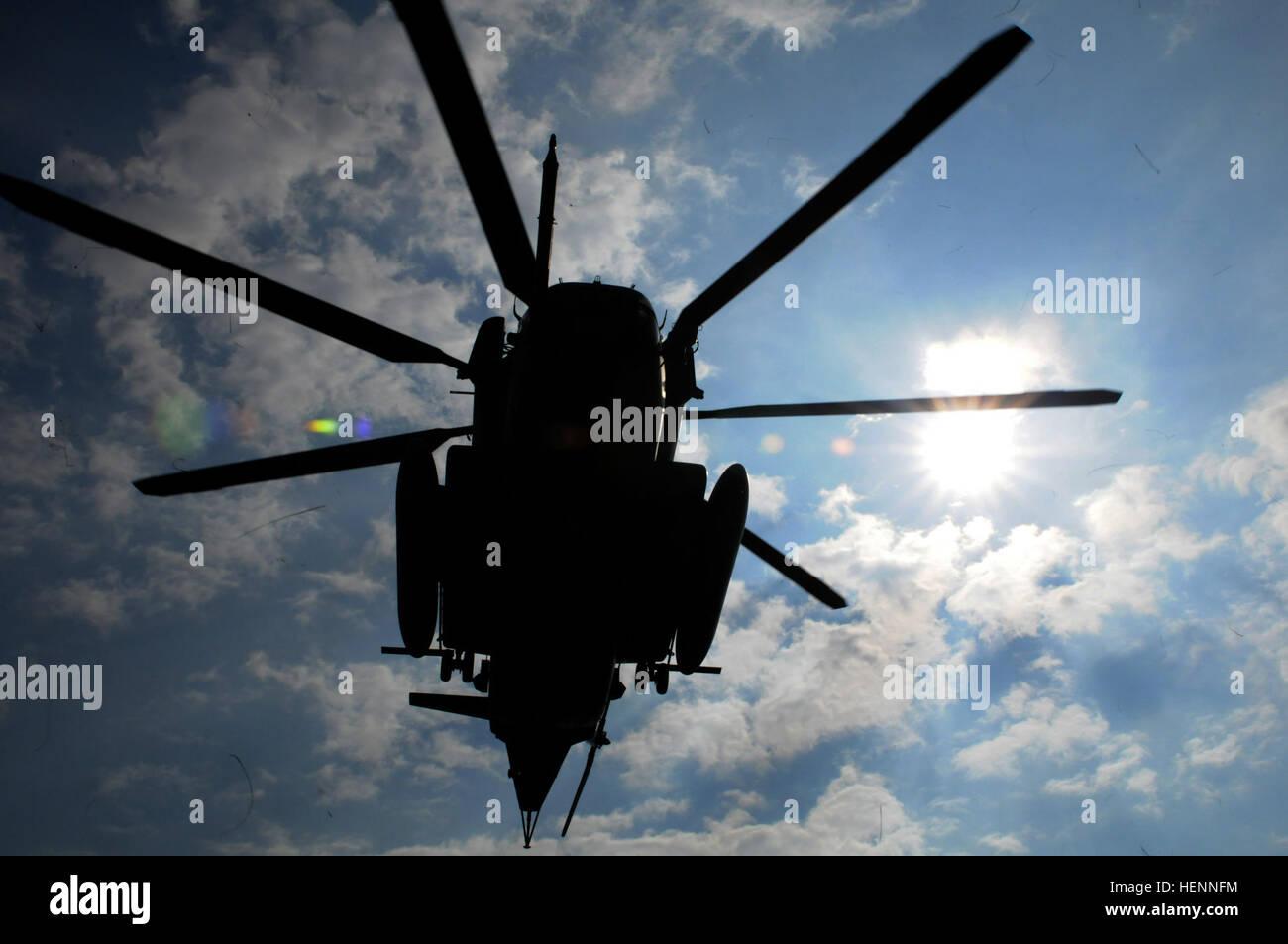 Un Cuerpo De Marines De Eeuu Sikorsky Tipo Ch 53e Super