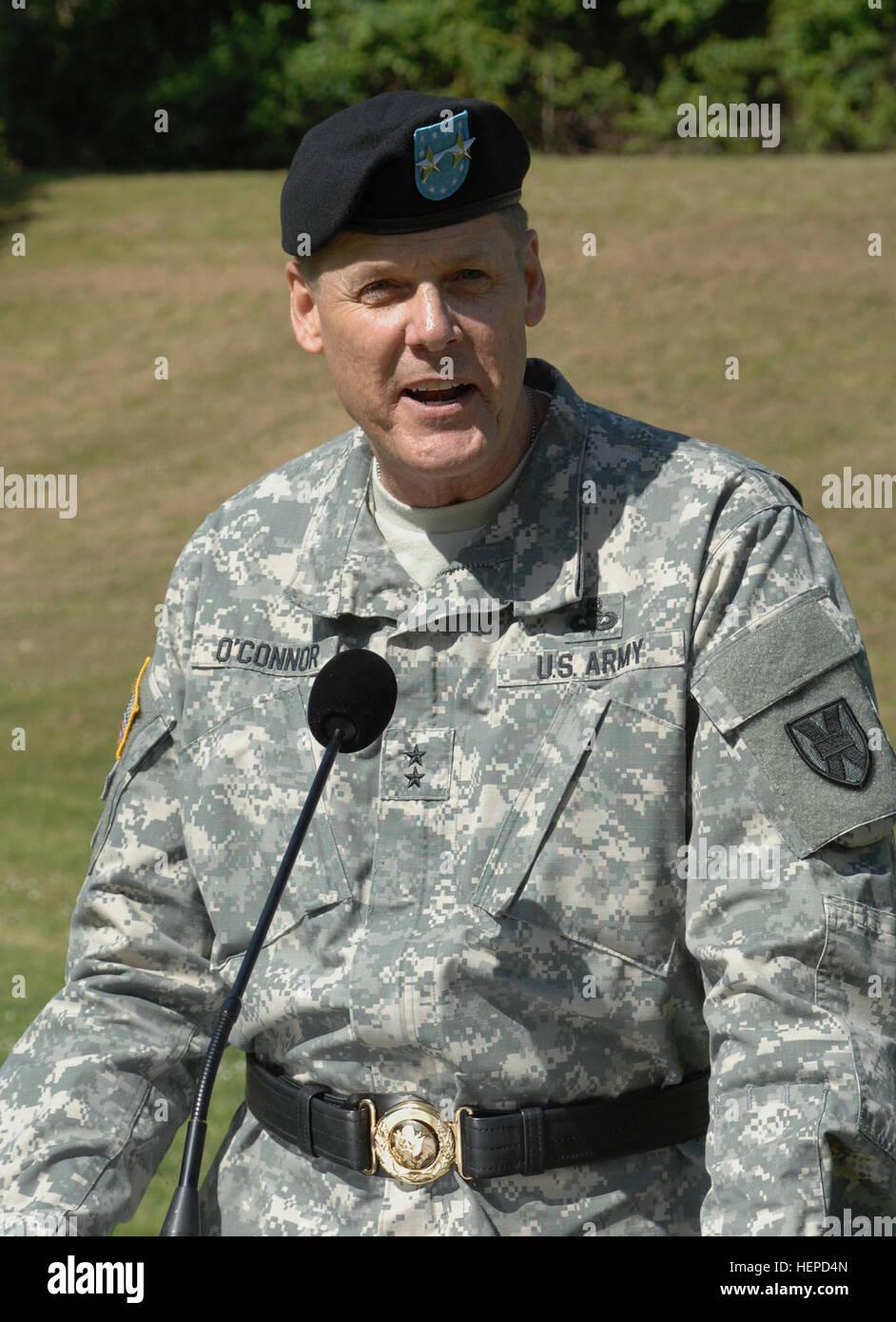 Gral. Gen. John R. O'Connor, Teatro 21 Logística General Comandante del Comando, pero no tenían nada Imagen De Stock