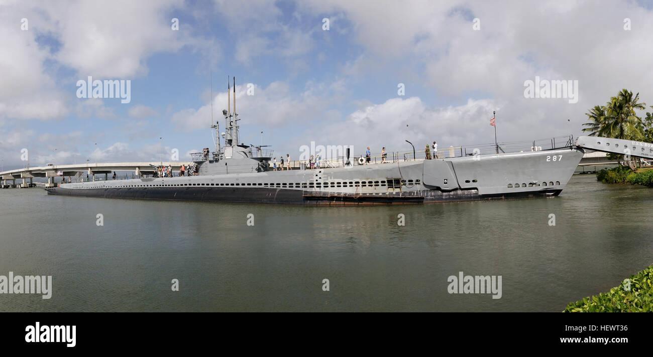 USS Bowfin (SS-287) es un submarino de ataque de la flota que luchó en el Pacífico durante la segunda Imagen De Stock