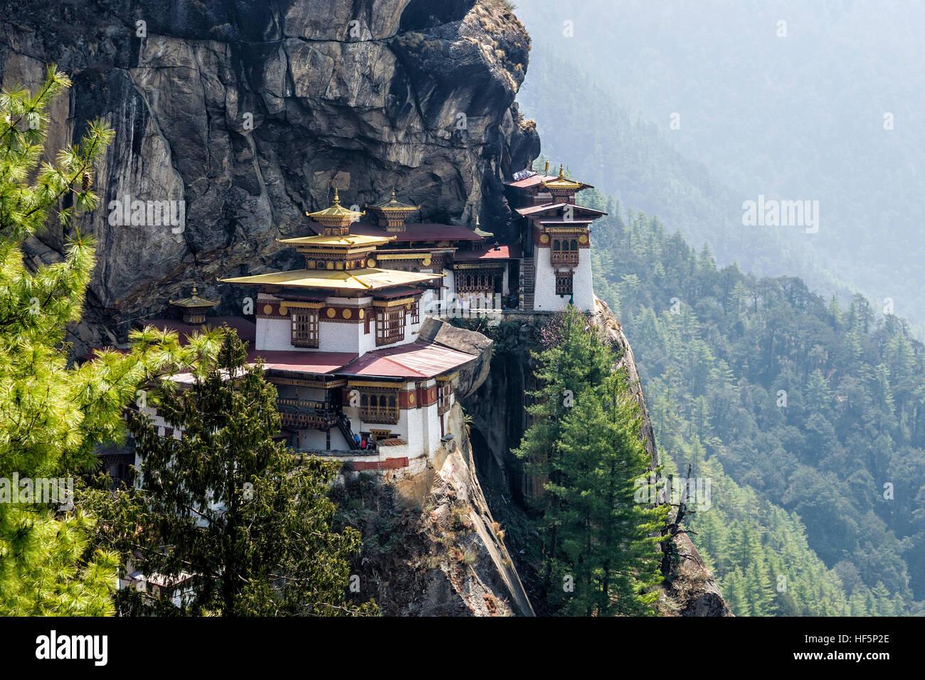 Monasterio Taktshang, Bhután Imagen De Stock
