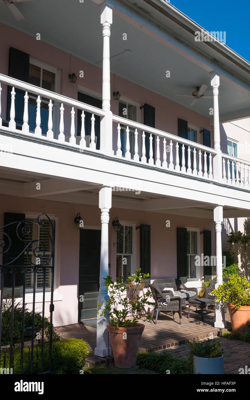 Estados Unidos South Carolina Charleston Típica Casa