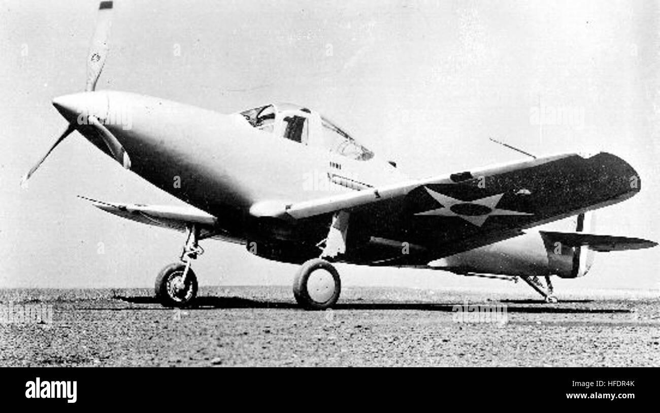 Bell XFL-1 Airabonita Foto de stock